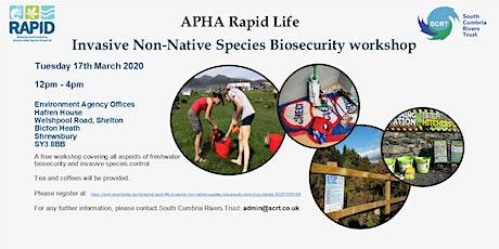 APHA Rapid Life Invasive non-native species - Biosecurity workshop  tickets