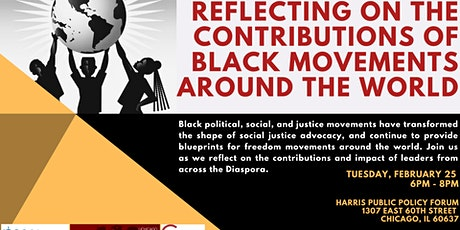 Reflecting on The Contributions of Black Movements Around The World tickets