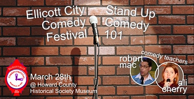 Stand Up Comedy 101 Class at Ellicott Silly Comedy Festival
