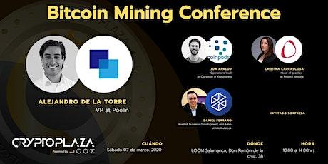 Bitcoin Mining Conference entradas