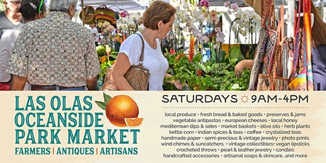 Las Olas Oceanside Farmers, Antiques & Artisan Market tickets