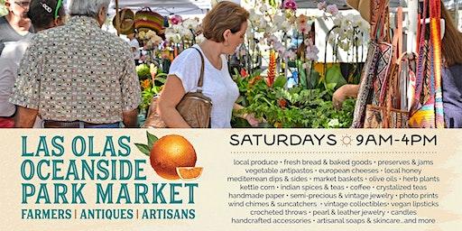 Las Olas Oceanside Farmers, Antiques & Artisan Market