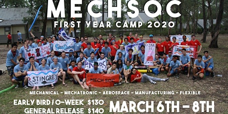 MechSoc First Year Camp 2020 tickets