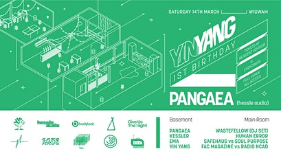 Yin Yang's 1st Birthday w/ Pangaea + Much More (FULL VENUE) tickets