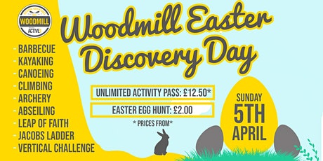 Woodmill Easter Discovery Day & Egg Hunt tickets