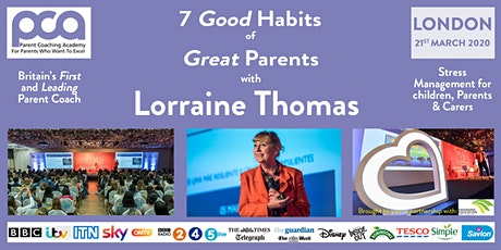 Cut Family Stress, Boost Energy & Create Time with  Lorraine Thomas tickets