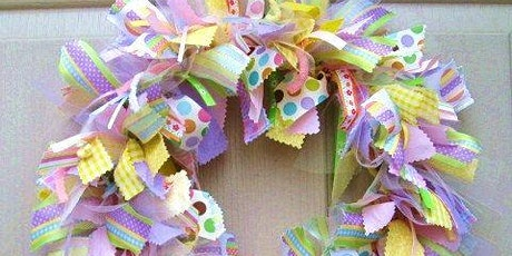 Crazy Crafty Chicks - Shabby Chic Fabric Wreaths tickets