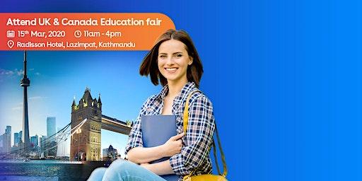 Attend UK ,Canada Education Fair 2020 in Kathmandu Nepal