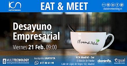 Eat & Meet: Desayuno Empresarial entradas