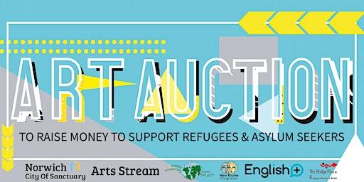 Norwich City of Sanctuary Arts Stream Art Auction