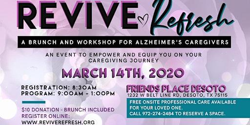 Revive Refresh: A Brunch and Workshop for Alzheimer's Caregivers