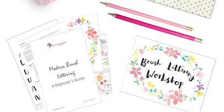 Modern Brush Lettering for Beginners tickets