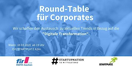 Round-Table für Corporates Tickets