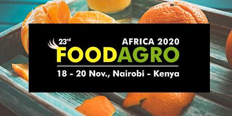 23rd Foodagro Kenya 2020 tickets