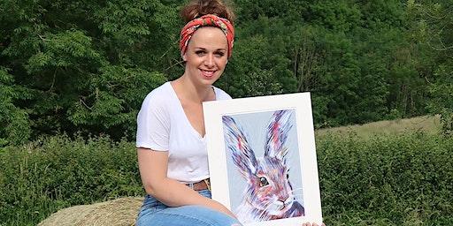 Dartmoor Artist Children's Easter Art Workshop