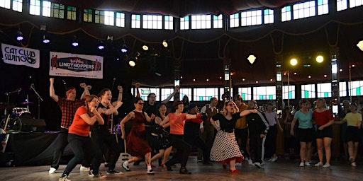 Learn a swing dance routine