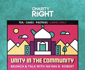 Unity In The Community - Brunch & Talk with Na'ima B. Robert tickets