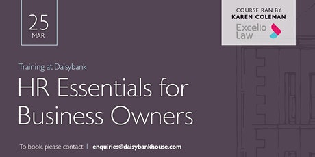 HR Essentials for business owners tickets
