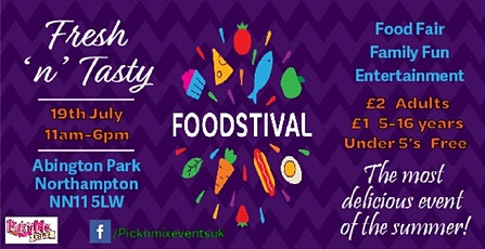 Fresh 'n' Tasty Foodstival tickets