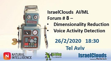 IsraelClouds AI-ML Forum #8