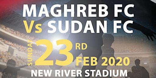 Maghreb FC VS Sudan Football Match