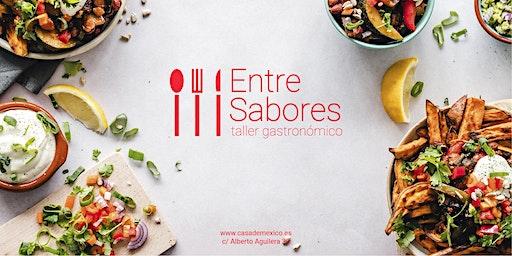 """Taller gastronómico «Descubridores» """"Entre Sabores""""  Delicias del Sur 4,11,18  y 25 de marzo 12:00-13:30 h."""