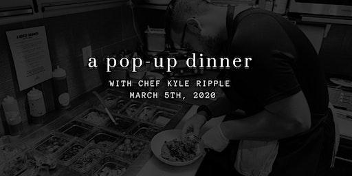 Pop Up Dinner at Perk