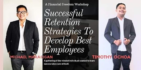 Successful Retention Strategies To Develop Best Employees tickets