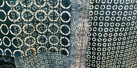 Short introduction and demo of Katazome printing by Sarah Desmarais tickets
