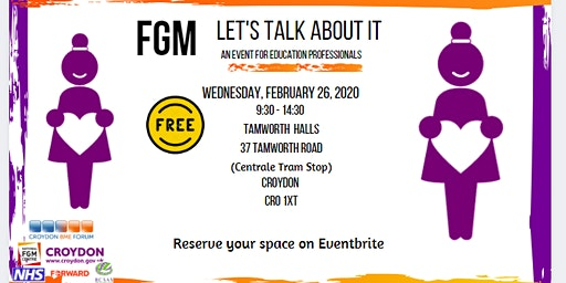 FGM Let's Talk About It: an education event