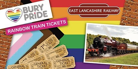 Bury Pride Rainbow Train 2020 tickets
