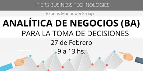 Analitica de Negocios (BA) para la Toma de Decisiones entradas