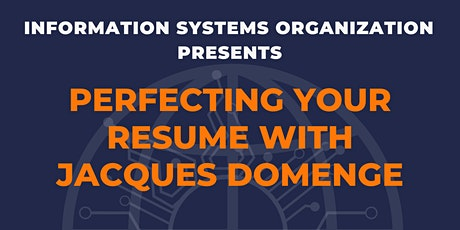 Information Systems Resume Workshop tickets