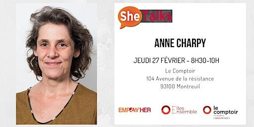 SheTalks #14 avec Anne Charpy, fondatrice de Voisin Malin  !