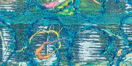 CTN Workshop - Mixing It All Up: FreeMachine Embroidery by Arlene Shawcross tickets