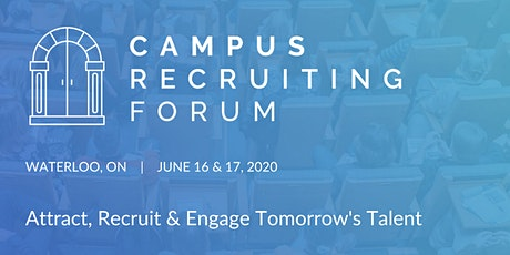 Campus Recruiting Forum 2020 - Waterloo tickets