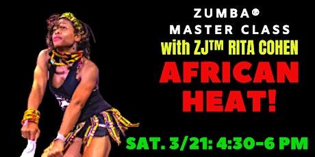 PA Zumba® Master Class: African HEAT! tickets