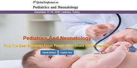 5th Global Conference on Pediatrics and Neonatology tickets