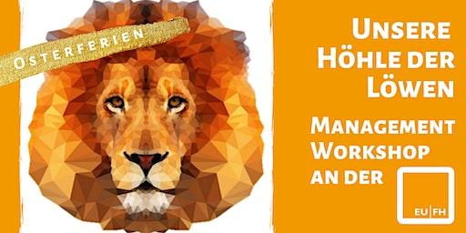 Management Academy Neuss - unsere Höhle der Löwen