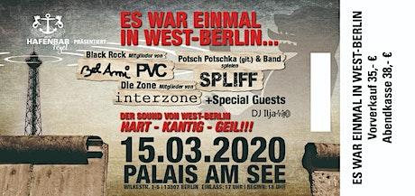 Es war einmal in West-Berlin ... Tickets