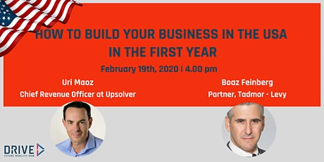 How to build your business in the USA in the first year tickets
