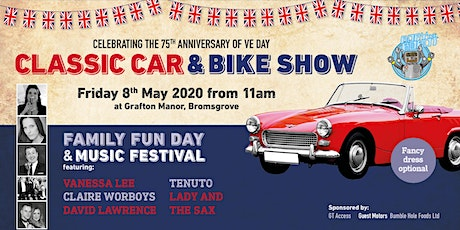 Grafton Manor Classic Car and Bike Show/Family Fun Day/Music Festival tickets