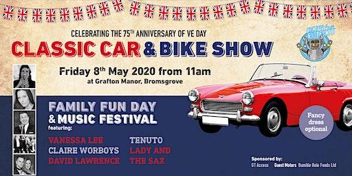 Grafton Manor Classic Car and Bike Show/Family Fun Day/Music Festival