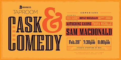 Casks & Comedy  tickets