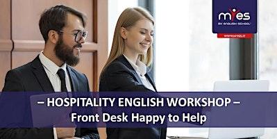 Hospitality workshop