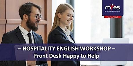 Hospitality workshop biglietti