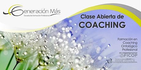 COACHING: Clase Abierta 2020 entradas