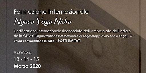 NYASA YOGA NIDRA - Formazione Internazionale