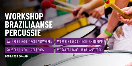 Workshops Braziliaanse Percussie tickets