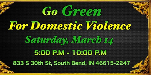 Go Green to Help Victims of Domestic Violence